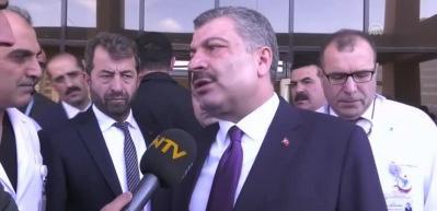 Sağlık Bakanı'ndan tren kazası açıklaması