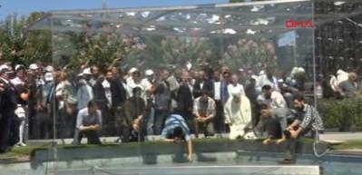 ''Saraçhane 15 Temmuz Anıtı'' açıldı