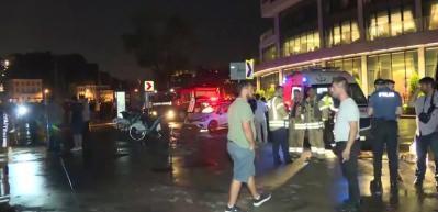 Sarıyer'de minibüs denize uçtu! 6 kişi yaralı