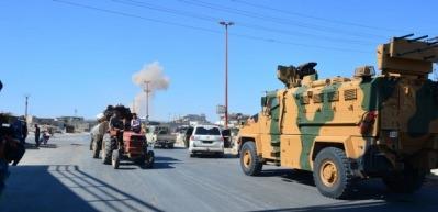 Savaş uçakları TSK konvoyunun güzergahını vurdu! Türkiye'den açıklama