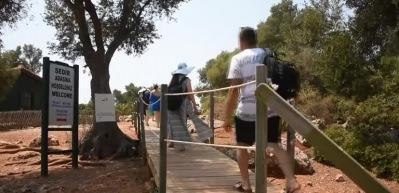 Sedir Adası ziyaretçilerini cezbediyor