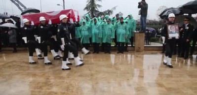 Şehit Emniyet Müdürü Altuğ Verdi için tören düzenlendi
