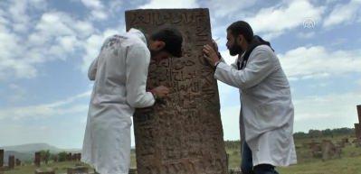 Selçuklu Meydan Mezarlığı'nda kazı ve restorasyon çalışmaları