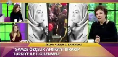 Selda Alkor'dan Gamze Özçelik'e çirkin eleştiri