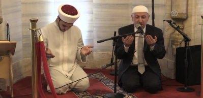 Selimiye Camisi'nde Fetih Suresi okundu