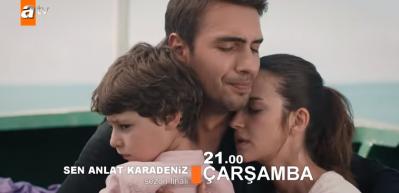 Sen Anlat Karadeniz 21.bölüm (sezon finali) fragmanı: Tahir ve Nefes kaçabilecek m?