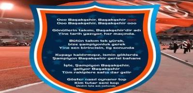 Serdar Ortaç'ın Başakşehir marşı sosyal medyayı salladı