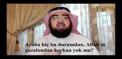 Şeyh Hasan el-Hüseyni'den koronavirüs yorumu: Allah'ın gazabından korkan yok mu?