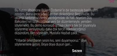 Sezen Aksu'nun Begonviller şarkısı