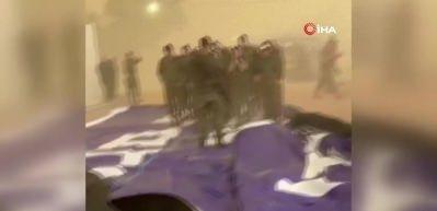 Şiddetli rüzgar İsrail'de askeri üssü vurdu: 4 asker yaralandı