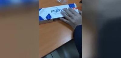 Sigara paketlerinin içinden Metamfetamin çıktı