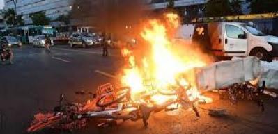 Şili'de öldürülen yerli yüzünden sokaklar karıştı