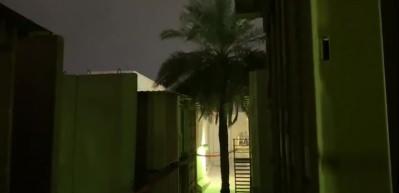 Sirenler aktif edildi... Bağdat'ta ABD elçiliğinin bulunduğu Yeşil Bölge'ye füze düştü