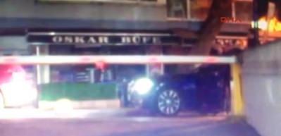 Şişli'deki gece kulübü önündeki silahlı kavga güvenlik kamerasında