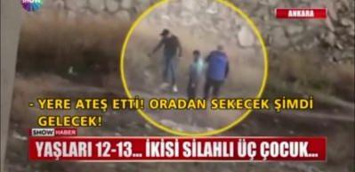 Skandal görüntü: 12-13 yaşlarındaki 3 çocuk...