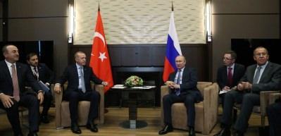 Son dakika: Erdoğan-Putin görüşmesi başladı! İlk sözler...