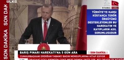 Son dakika haberi! Erdoğan: '120 saat sonra dediklerimiz olmazsa...'