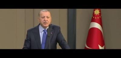 Son dakika haberi: Erdoğan'dan çok sert Doğu Akdeniz resti!