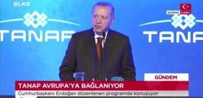 Son dakika: Türkiye için tarihi gün! Erdoğan açılışta resti çekti (VİDEO)