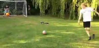 Sosyal medya bu penaltı vuruşunu konuşuyor!