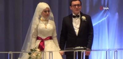 Spor camiası düğünde buluştu