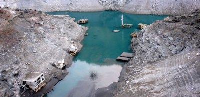 Sular çekilince ortaya çıktı: Narlı köyü
