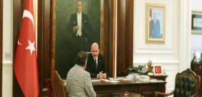 Süleyman Soylu Aylan Bebek filminde rol aldı