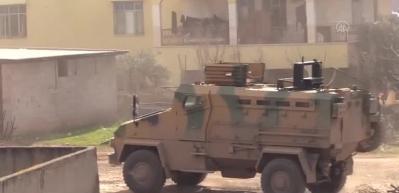 Suriye sınırına 100 araçlık askeri sevkiyat