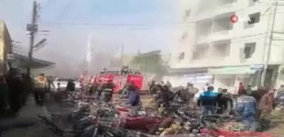 Suriye'de patlama! Türkiye teyakkuza geçti