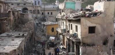 Suriye'de pazar yerine düzenlenen saldırıda 42 kişi öldü