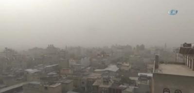 Suriye'den gelen toz fırtınası göz açtırmadı