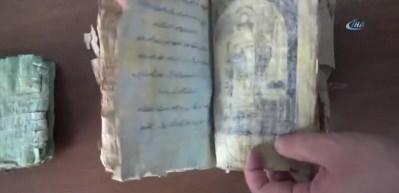 Suriye'den getirilmiş! 700 yıllık kitabın sırrı