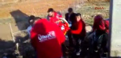 Suruç'ta otomobil devrildi: 1 ölü, 2 yaralı