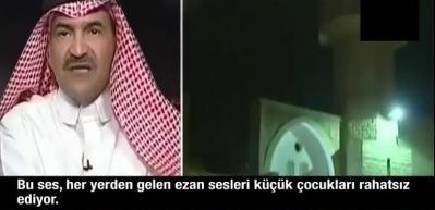 Suudi gazeteci ezanların sesinin kısılmasını istedi!