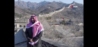 Suudi Prens, Çin Seddi'ni ziyaret etti