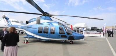 T625 helikopteri Bahreyn Airshow'da ilgi odağı oldu
