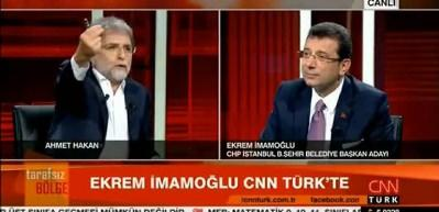 İmamoğlu'nun sözlerine Ahmet Hakan bile inanamadı!