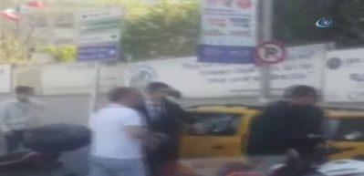 Taksici, kadın yolcudan fazla para isteyince ortalık karıştı