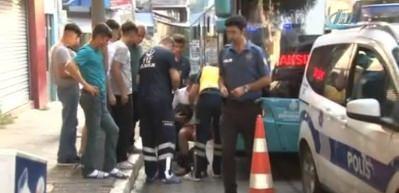 Taksim'de akbilsiz dört yolcu dehşet saçtı!