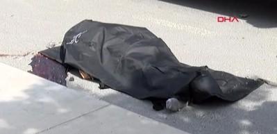 Taksinin çarptığı motosiklet sürücüsü öldü