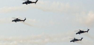 Tanklar, helikopterler, roketler... TSK'dan gövde gösterisi