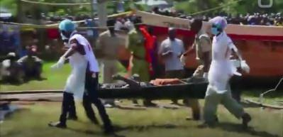 Tanzanya'da feribot faciasından iki gün sonra bir kişi sağ kurtarıldı!