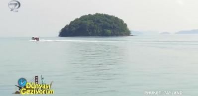 Tayland'ın en güzel adası Phuket'te bulunan turistik 3 ada