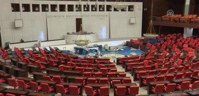 TBMM Genel Kurul Salonu yenilendi