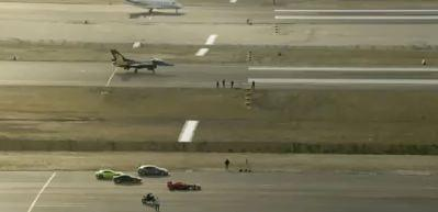 TEKNOFEST'te dev yarış! F-16'ya karşı yarıştılar
