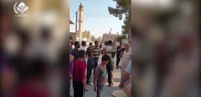Tel Abyad'da 4 yıl sonra ezan sesi