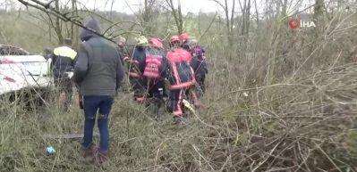 TEM otoyolunda feci kaza: 2 ölü, 1 bebek yaralı