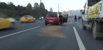 TEM Otoyolu'nda kaza: 2 çocuk yaralı