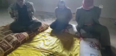 Terör örgütü PKK/YPG'den korkunç tuzak! Köylülere bomba bağladılar