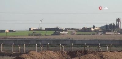 Terör örgütü sınıra yakın evleri mevziye çeviriyor